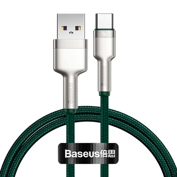 Кабель Baseus Cafule Series Metal Data Cable USB to Type-C