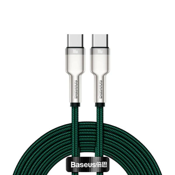 Кабель Baseus Cafule Series Metal Data Cable Type-C to Type-C 100W