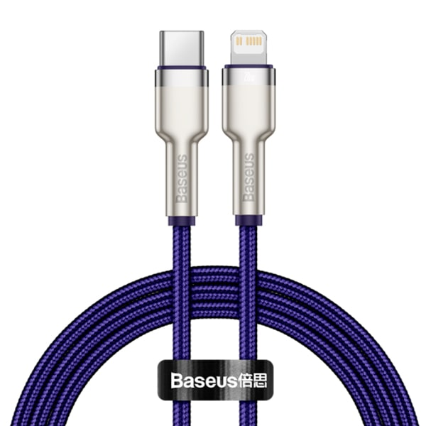 Кабель Baseus Cafule Series Metal Data Cable Type-C to Lightning 20W