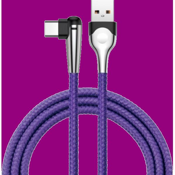 Кабель Baseus MVP Elbow Mobile Game сable 2м Type-C/USB