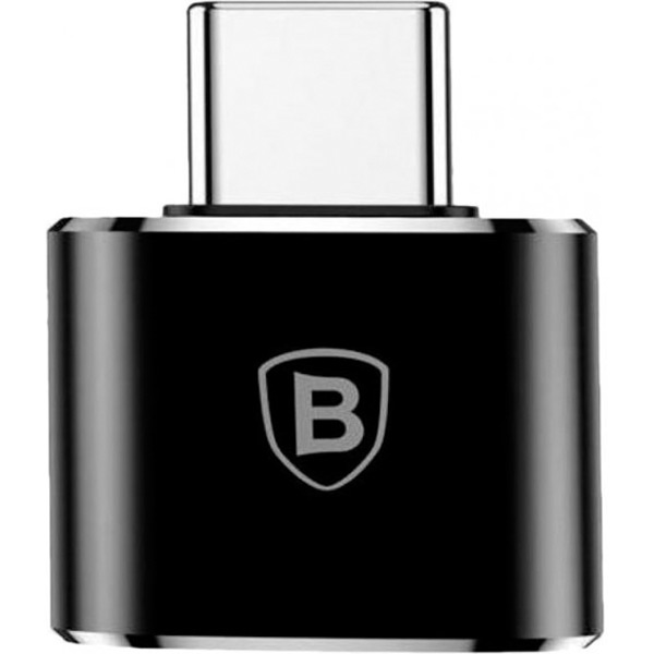 Адаптер Baseus Adapter USB-C to USB Female Black (CATOTG-01)