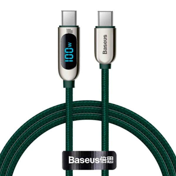 Кабель Baseus Display Fast Charging Data Cable Type-C to Type-C 100W