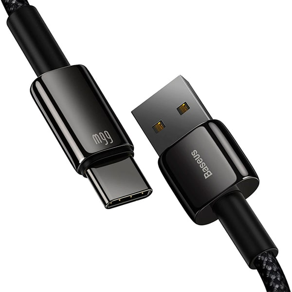 Кабель Baseus Tungsten Gold Fast Charging USB to Type-C 66W