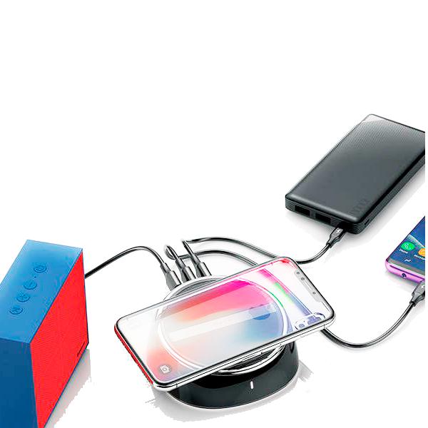 Беспроводное ЗУ Baseus 2in1 Wireless Charger
