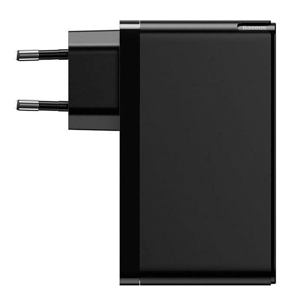 Сетевое зарядное Baseus GaN Mini Quick Charger C+C+A 120W