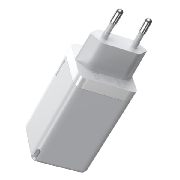 Сетевое зарядное Baseus GaN2 Pro Quick Charger 2C+U 65W EU