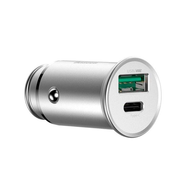 Автомобильная зарядка Baseus Circular Metal PPS Quick Charger 30W