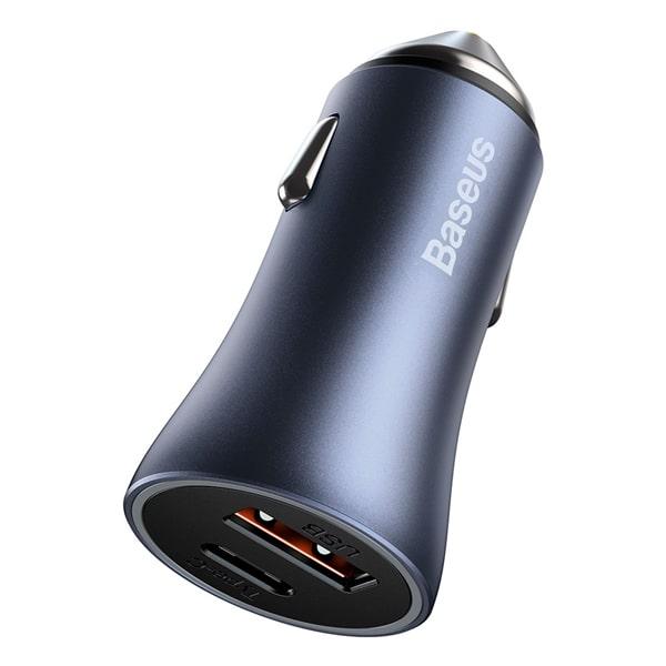 Автомобильное зарядное Baseus Golden Contactor Pro Car Charger U+C 40W