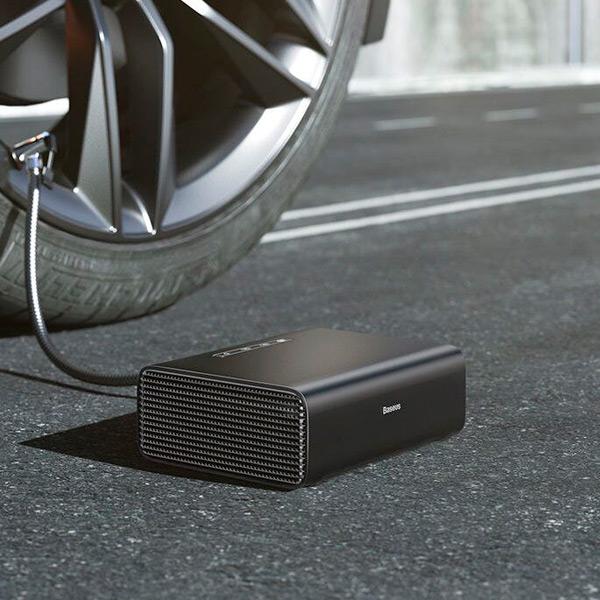 Автомобильный насос Baseus Smart Inflator Pump