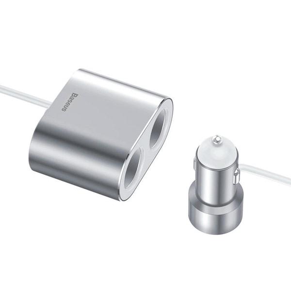 Автомобильное зарядное Baseus High Efficiency One to Two Cigarette Lighter