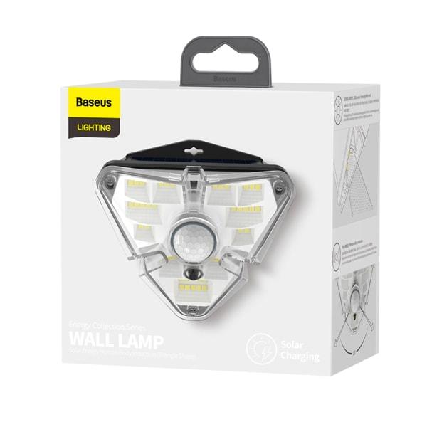 Лампа Baseus Energy Collection Series Solar Energy Human Body Induction Wall Lamp