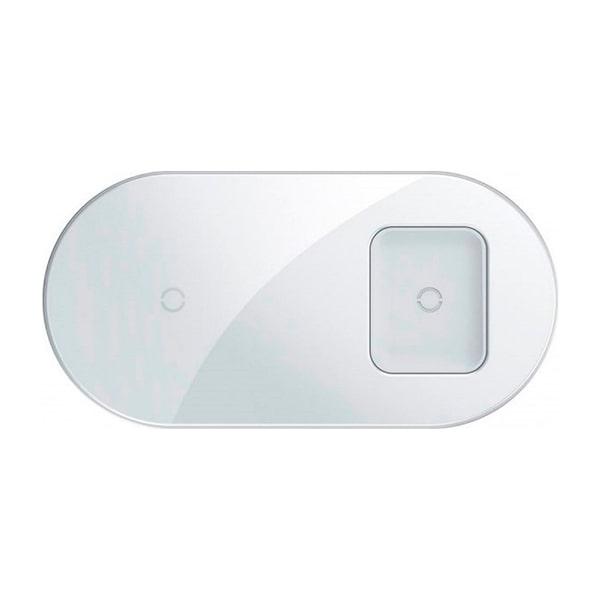 Беспроводная зарядка Baseus Simple 2in1 Wireless Charger Pro Edition For Phones+Pod