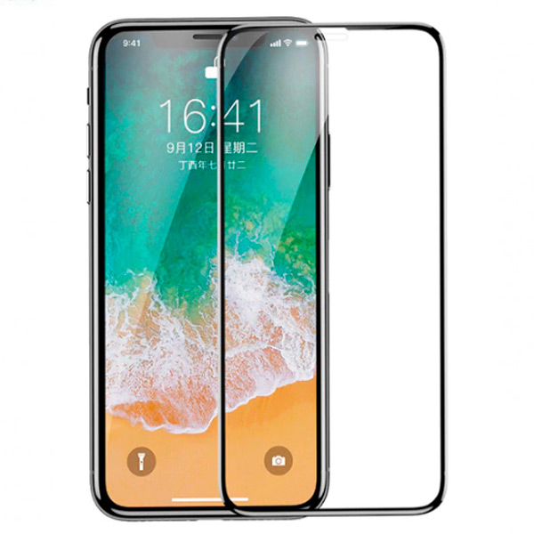 Baseus full-screen curved anti-blue light tempered glass screen protector For iPhone XS Max 6.5inch