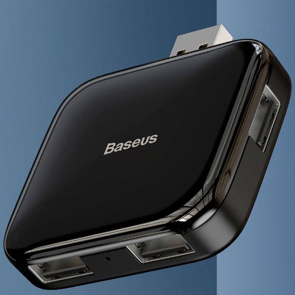 USB-хаб Baseus Fully folded portable 4-in-1 USB HUB