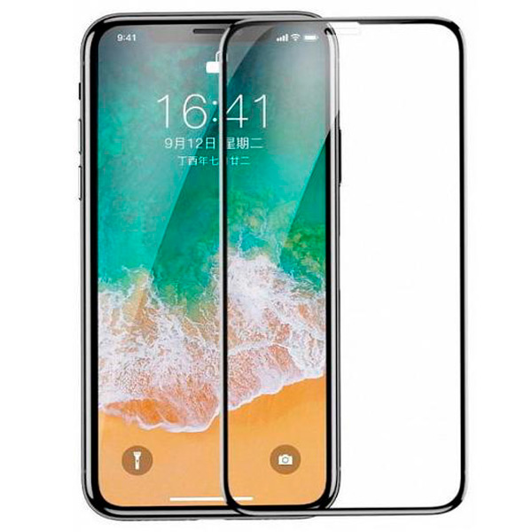 Baseus Tempered Glass All Screen Arc Surface 0.3mm для iPhone X/XS
