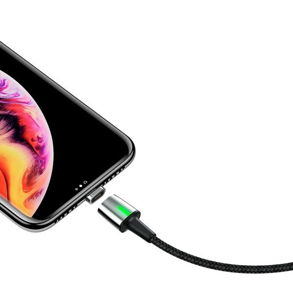 Кабель Baseus Zinc Magnetic Cable Kit (iP+Type-C+Micro)