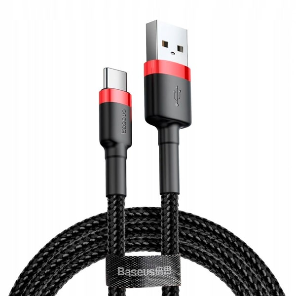 Кабель Baseus cafule Cable USB For Type-C 2A 3m