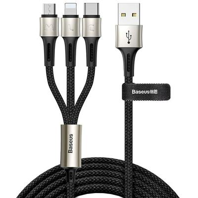 Кабель Baseus caring touch selection 1-in-3 USB cable