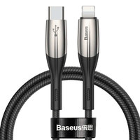 Кабель Baseus Horizontal Data Cable Type-C to iP PD 18W