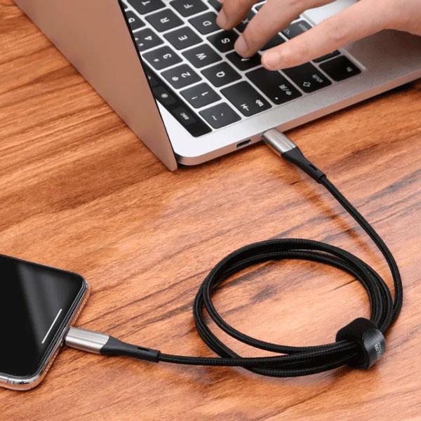 Кабель Baseus Horizontal Data Cable Type-C to iP PD 18W