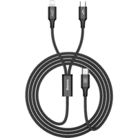 Кабель Baseus Rapid Series 2-in-1 MicroUSB -Lightning 1.2 м