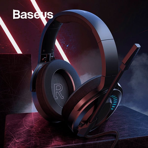 Наушники Baseus GAMO Immersive Virtual 3D Game headphone