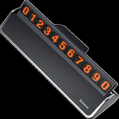 Табличка для номера телефона Baseus hermit Temporary Parking Number Card