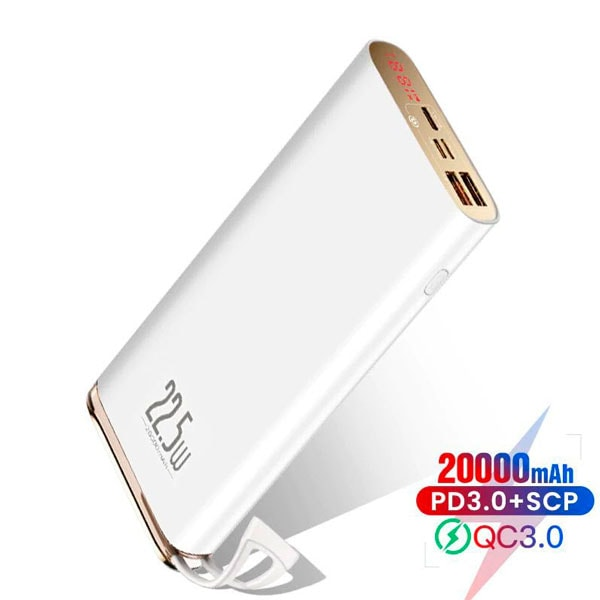 Внешний аккумулятор Baseus Starlight Digital Display Quick Charg 20000mAh 22.5W