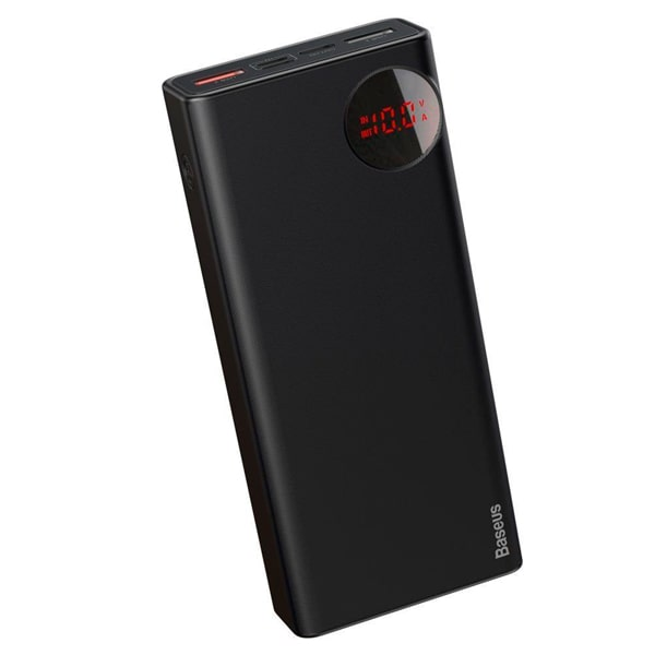 Внешний аккумулятор Baseus Adaman Metal Digital Display QC 20000mAh 65W