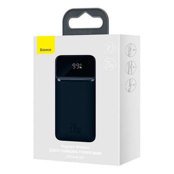 Внешний аккумулятор Baseus Magnetic wireless quick charging 10000 mAh