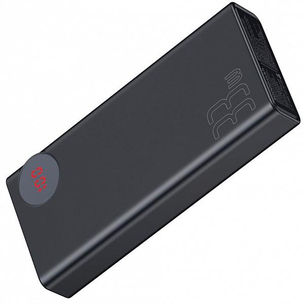 Внешний аккумулятор Baseus Mulight Quick Charge Power Bank 30000mAh