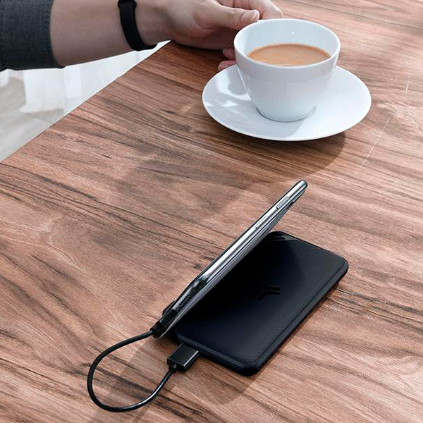 Внешний аккумулятор Baseus S10 Bracket Wireless Charger 10000mAh