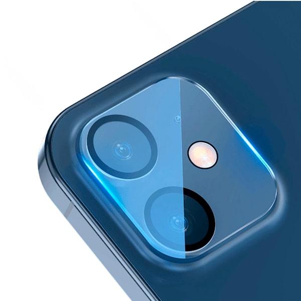 Защитное стекло на камеру для iPhone 12 Mini Baseus Full-frame Lens Film