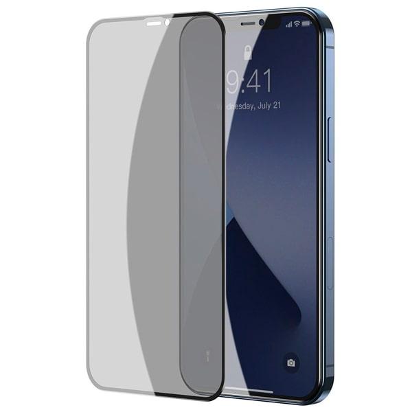 Защитное стекло для iPhone 12 Pro Max Baseus Curved-Screen Tempered Glass Crack-Resistant Edges