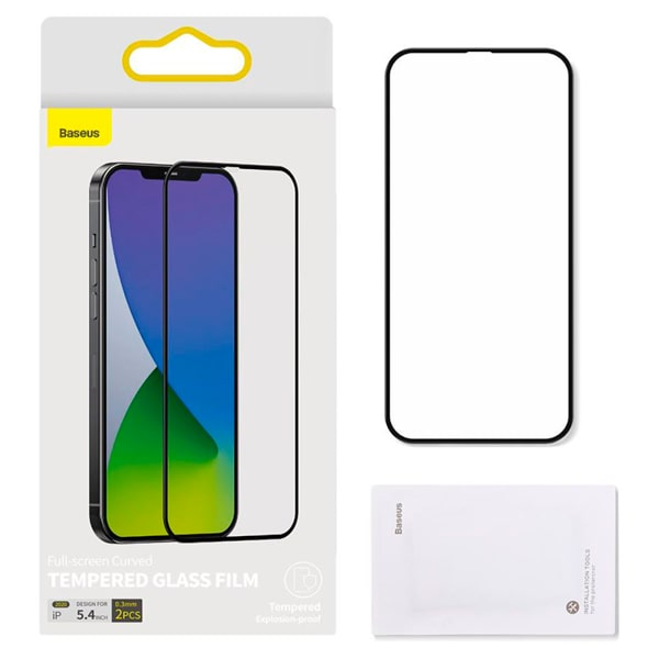 Защитное стекло для iPhone 12 Pro Max Baseus Full-Screen Tempered Glass Screen