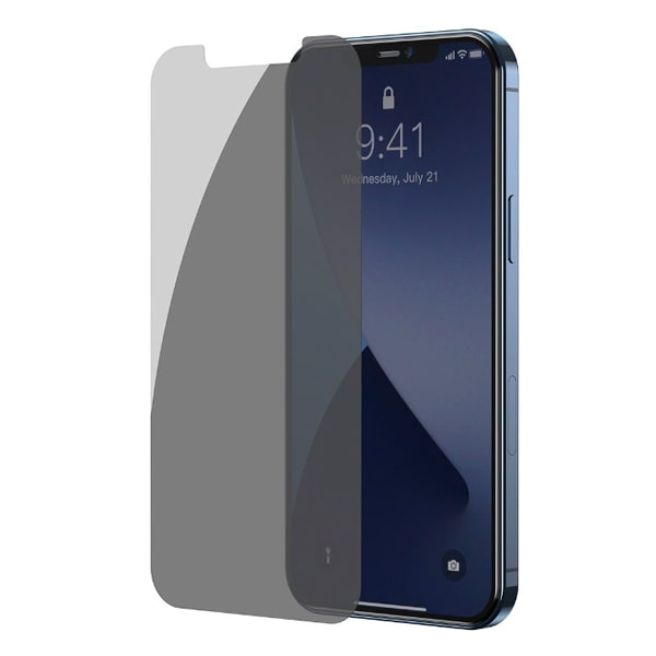 Защитное стекло для iPhone 12 Mini Baseus Full-glass Anti-peeping Tempered Glass