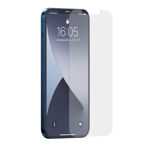 Защитное стекло для iPhone 12/12 Pro Baseus Full-glass Frosted Tempered Glass Film