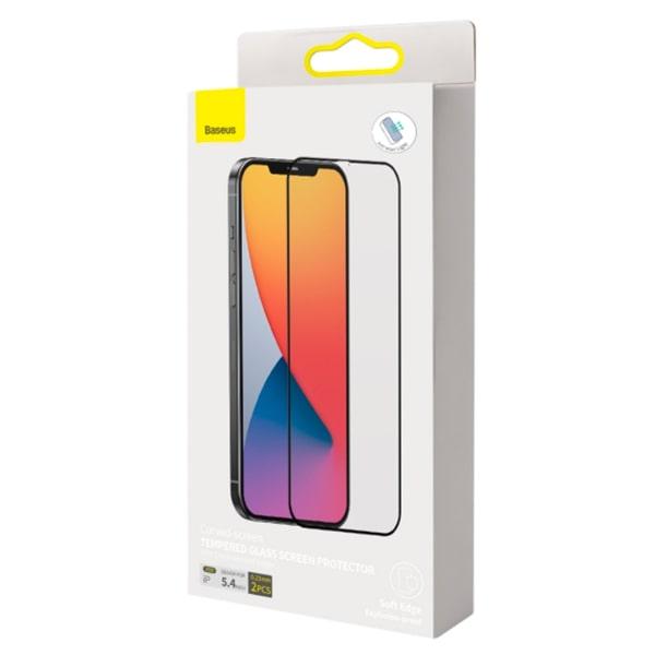 Защитное стекло для iPhone 12 Mini Baseus Full-screen and Full-glass Tempered Glass