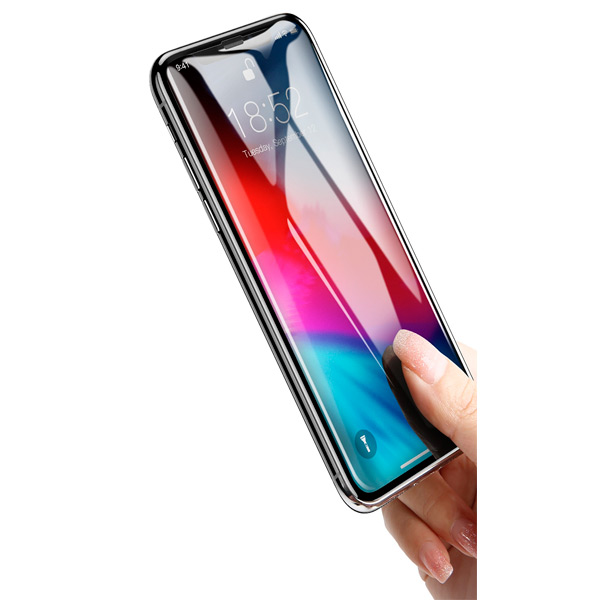 Baseus Full Cover curved Privacy Apple iPhone XR (SGAPIPH65-TG01)