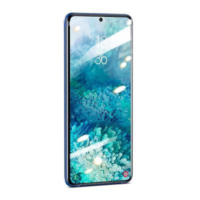 Защитное стекло Baseus Curved-screen UV Tempered Glass Screen для Galaxy S20 Ultra