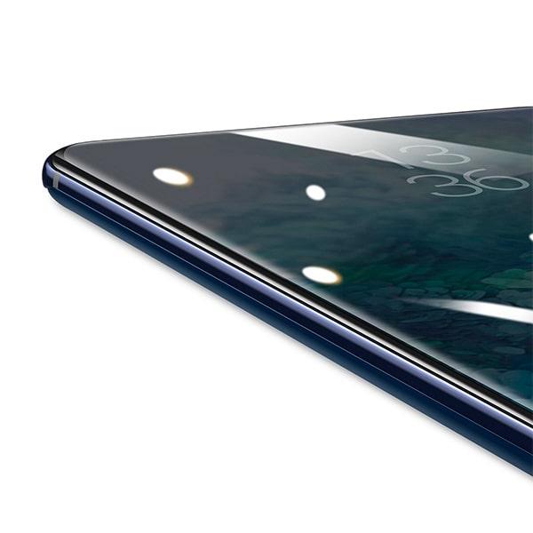 Защитное стекло Baseus Curved-screen UV Tempered Glass Screen для Galaxy S20 Plus