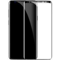 Защитное стекло Baseus 0.3mm All-screen Arc-surface Tempered Glass Film для Samsung Galaxy S9