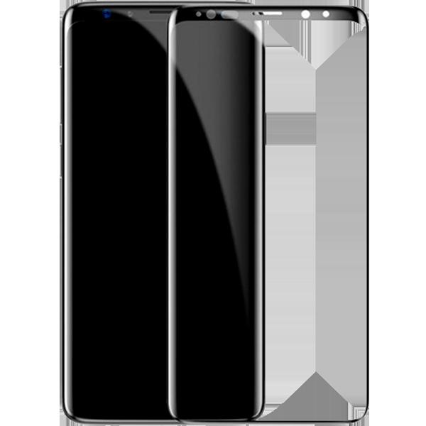 Защитное стекло Baseus 0.3mm All-screen Arc-surface Tempered Glass Film для Samsung Galaxy S9