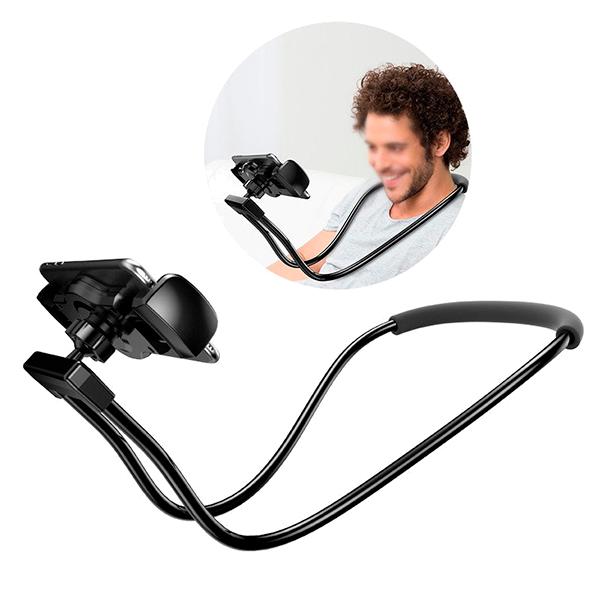 Держатель для смартфона на шею Baseus Necklace Lazy Bracket