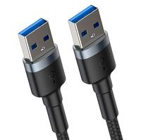 Кабель Baseus cafule Cable USB3.0 Male TO USB3.0 Male 2A 1m