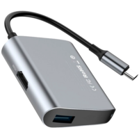 Адаптер Baseus Enjoyment series USB-C to HDMI/USB 3.0 (CATSX-D0G)