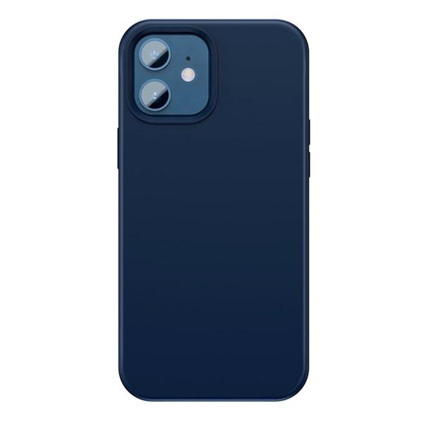Чехол для iPhone 12/12 Pro Baseus Liquid Silica Gel Magnetic Case