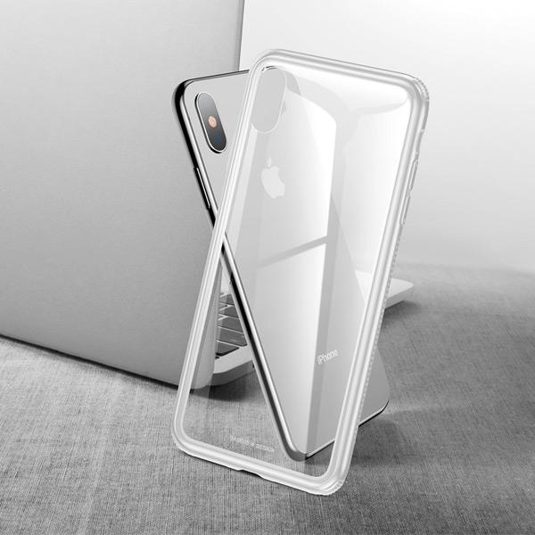 Чехол Baseus See-through Glass для iPhone X/Xs
