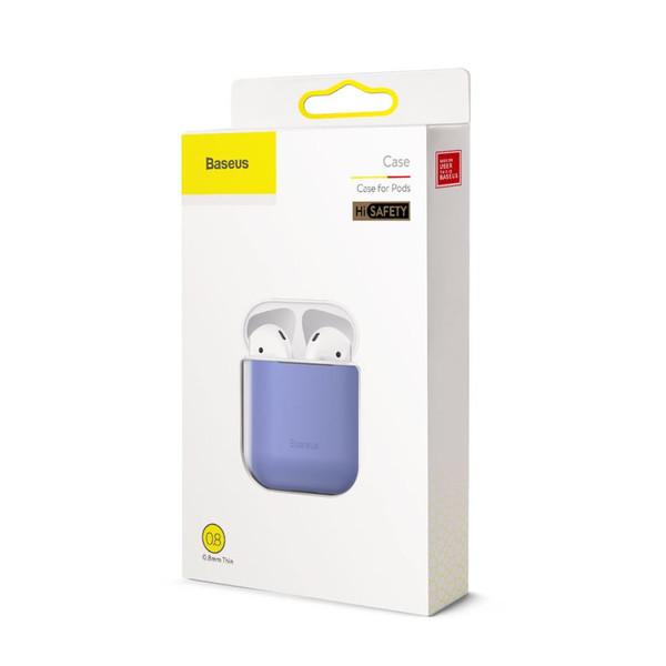 Чехол для наушников AirPods 1/2 с разъемом для зарядки Baseus Ultrathin Series Silica Gel Protector