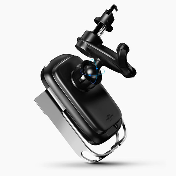 Автомобильный держатель Baseus Rock-solid Electric Holder Wireless charger kit